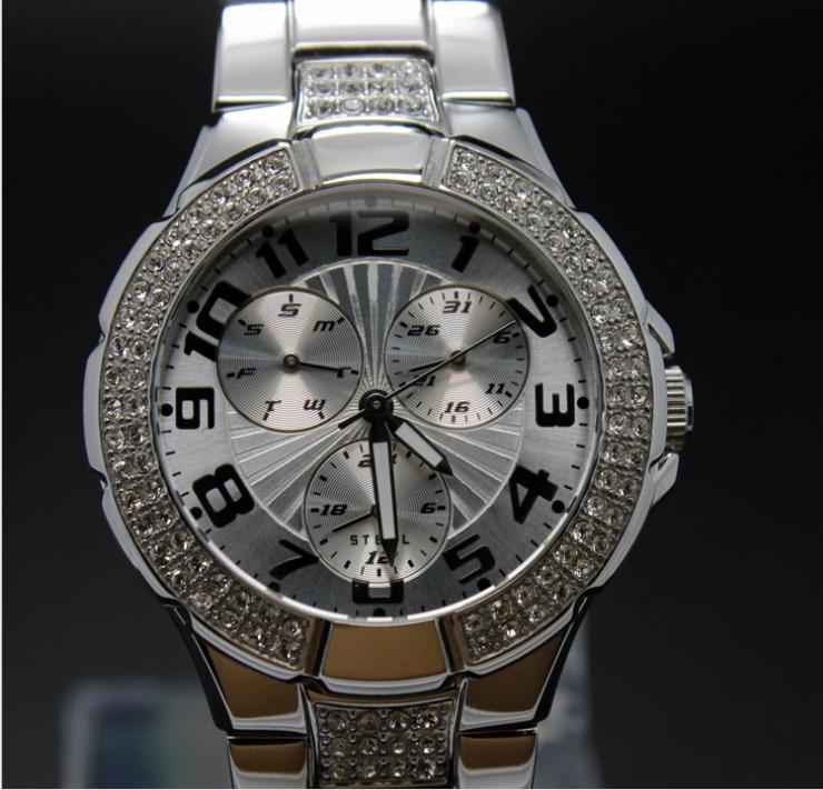 高档铜套装镶钻时尚礼品表女装手表 3