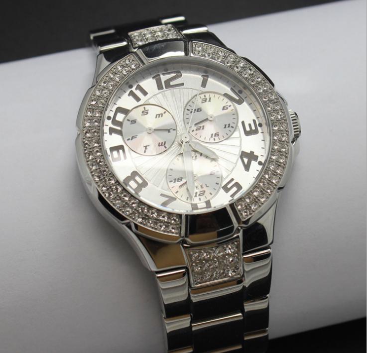 高檔銅套裝鑲鑽時尚禮品表女裝手錶 2