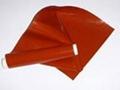供应硅橡胶玻纤高温涂层布