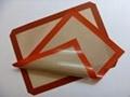供应硅橡胶玻纤烤箱垫
