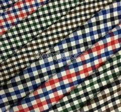 China Supplier 21Sx21S 100 Cotton Yarn Dyed Plaid Flannel Fabric YDF-011