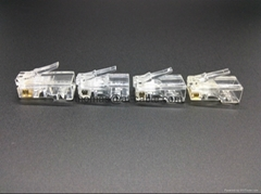 RJ45 UTP Cat 5e connector 3Pierced