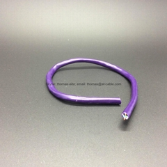 Computer line with Purple PVC Jacket UTP CAT5E