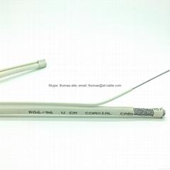 RG6M/ RG6+M/ RG6 With Steel messenger Drop Wire