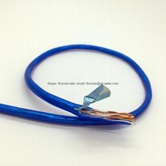 Transparent Blue PVC AL