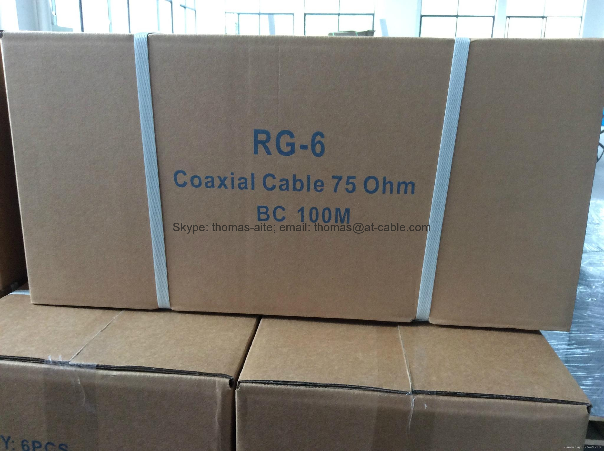 RG6 75OHM COAXIAL CABLE