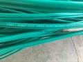 Green PVC RG6+2C/ KX6+2Alim Siamese CCTV Coaxial Cable
