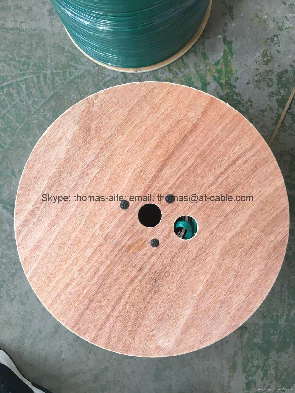 kx6+2c 500m wooden drum CCTV Cable