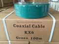 coaxial cable kx6 100m
