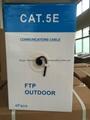 Outdoor UV PE Jacket FTP CAT5E