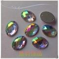 電鍍國產雙孔壓克力鑽 5