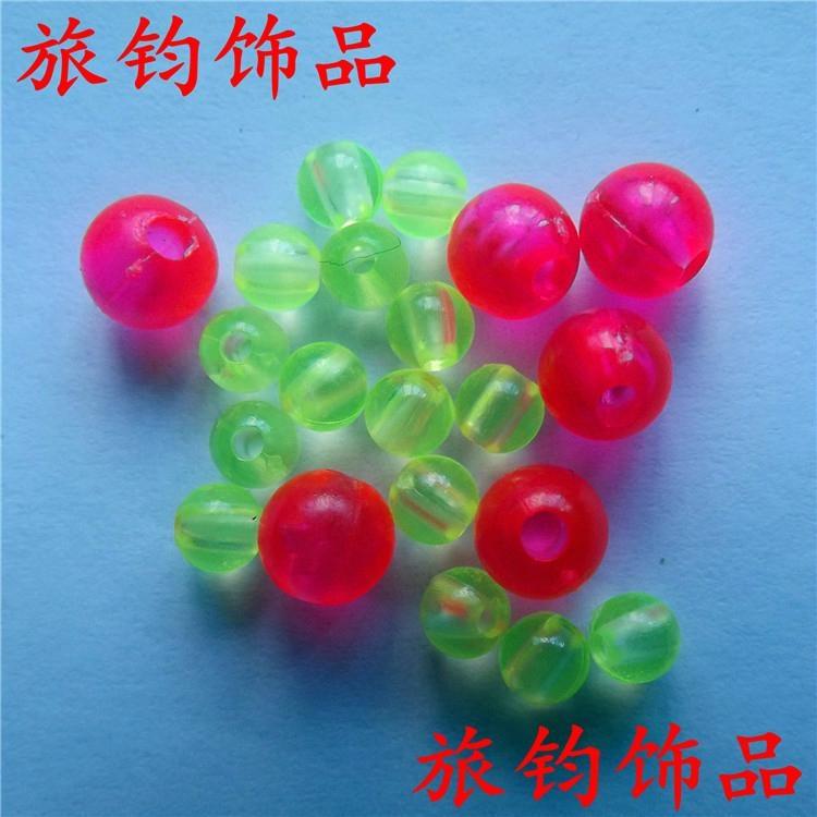 義烏工廠直銷角珠塑料熒光珠 2
