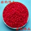 義烏工廠直銷角珠塑料熒光珠 3