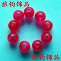 義烏工廠直銷角珠塑料熒光珠 5