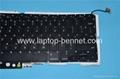 Laptop keyboard for Macbook A1286