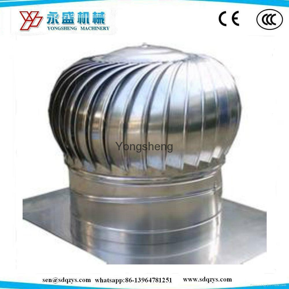 Roof Mounted Stainless Steel Turbo Fan 300 500 600 800