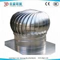 Roof Mounted Stainless Steel Turbo Fan 1