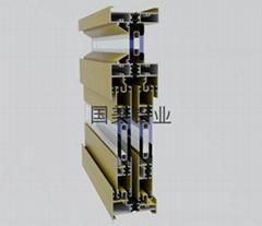 The broken bridge insulation material
