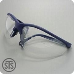 重松EE12  防冲击防雾安全眼镜