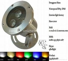 36 W IR control RGB LED Aquarium Underwater Light Supplier: Dongguan simu hardwa