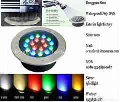 LED ground luminaire From 5yearsDongguanSimuHardwareLightingCo,Ltd