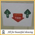 Anti-skidding glass fiber aluminium foil