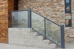 玻璃圍欄鋼化玻璃安全玻璃圍欄