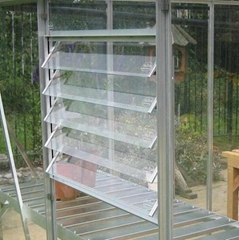 Glass louver windows and