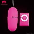 High quality MP3 love egg,vibrating wired sex toy for woman