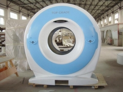 hand lay-up fiberglass medical machinery CT cover