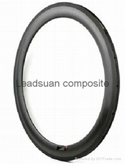 60mm Carbon Road Bicycle Tubular Rims