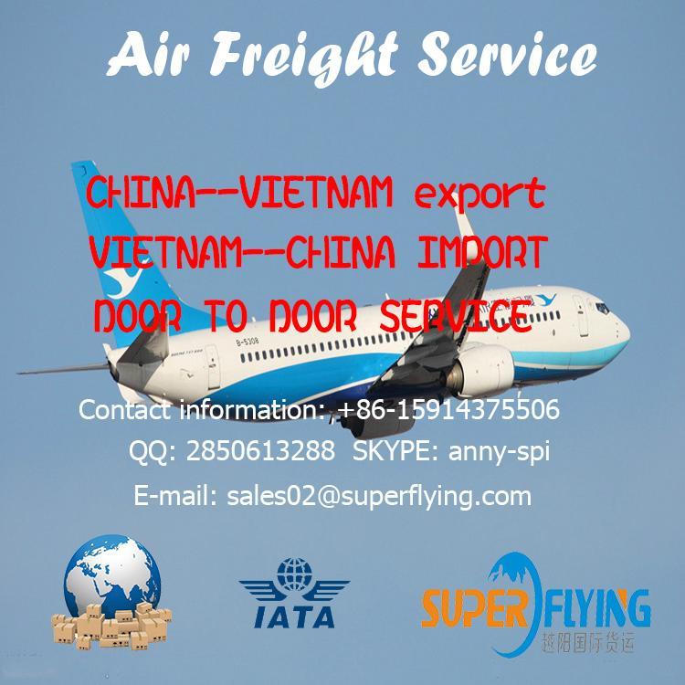 International freight forwarding air cargo from China to UK door to door service 3