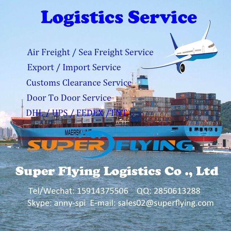 International freight forwarding air cargo from China to UK door to door service 4
