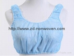 Disposable non woven bra