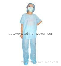 Disposable gown isolatoin gown
