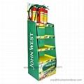 JC POP Supermarket Cardboard Displays