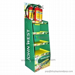 JC POP Supermarket Cardboard Displays for Food Promotion