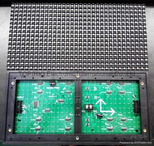 p10 white color led panel/led display module 2