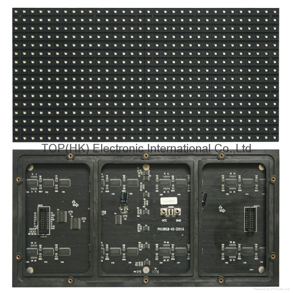 p10 smd indoor full color led display module 1
