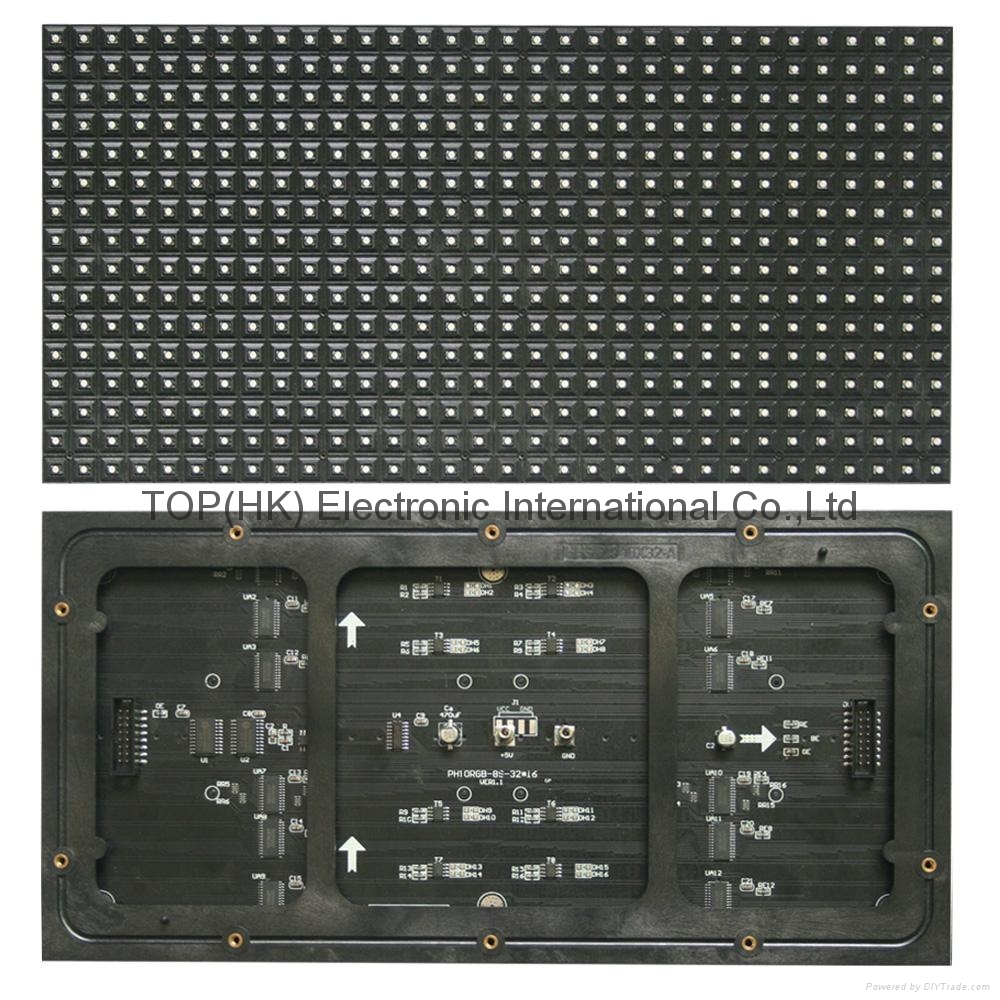 p10 smd indoor full color led display module 2