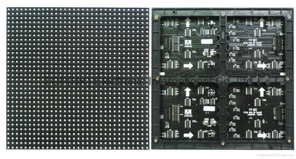 p7.62 3in1 full color led display screen module panel 2