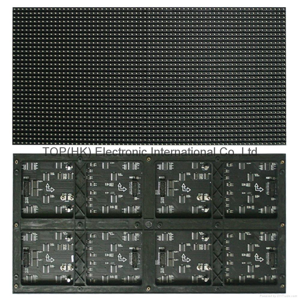 p7.62 3in1 full color led display screen module panel 3