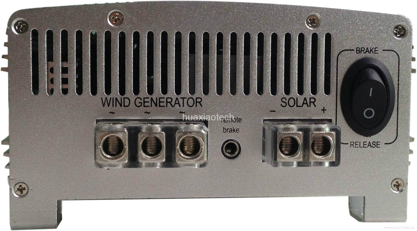 Off grid 1000W solar power system wind generator charge controller 3
