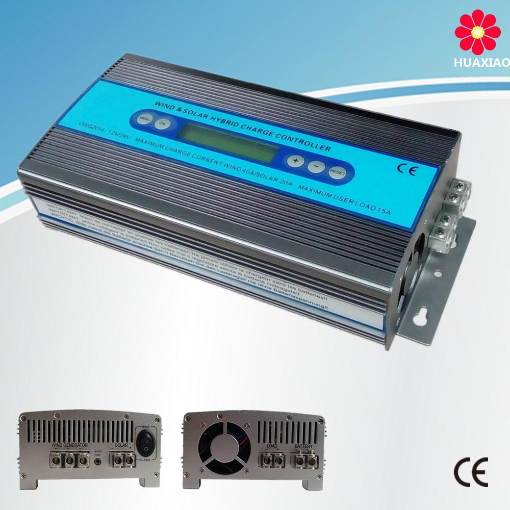 12V/24V 1000W Wind generator solar power system charge cotroller 1