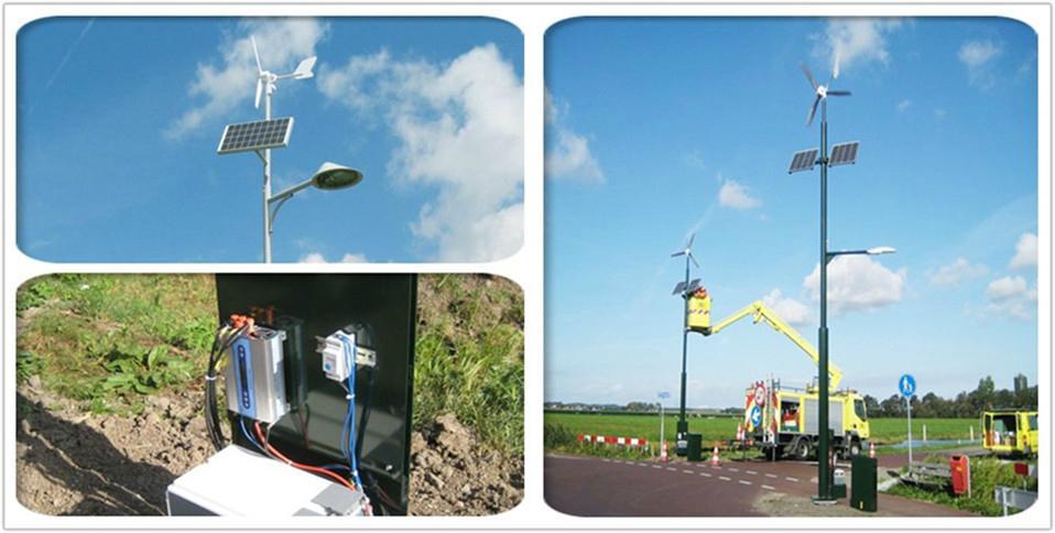 12V/24V 1000W Wind generator solar power system charge cotroller 4