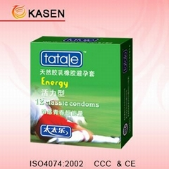 Natural Latex rubber Condom