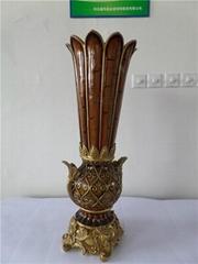 歐式時尚花瓶樹脂工藝品擺件