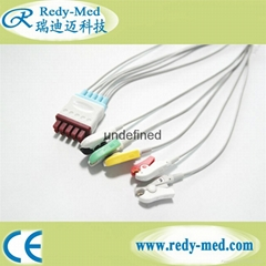 M1971A for philips 5 lead ecg leadwires,IEC,Clip