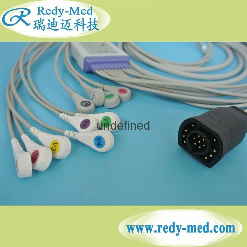 ZOLL 10 lead/12 lead EKG cable leadwire 1