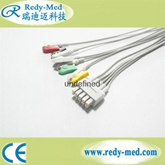 Philips Twin Pin ECG Lead Set leadwires M1623A